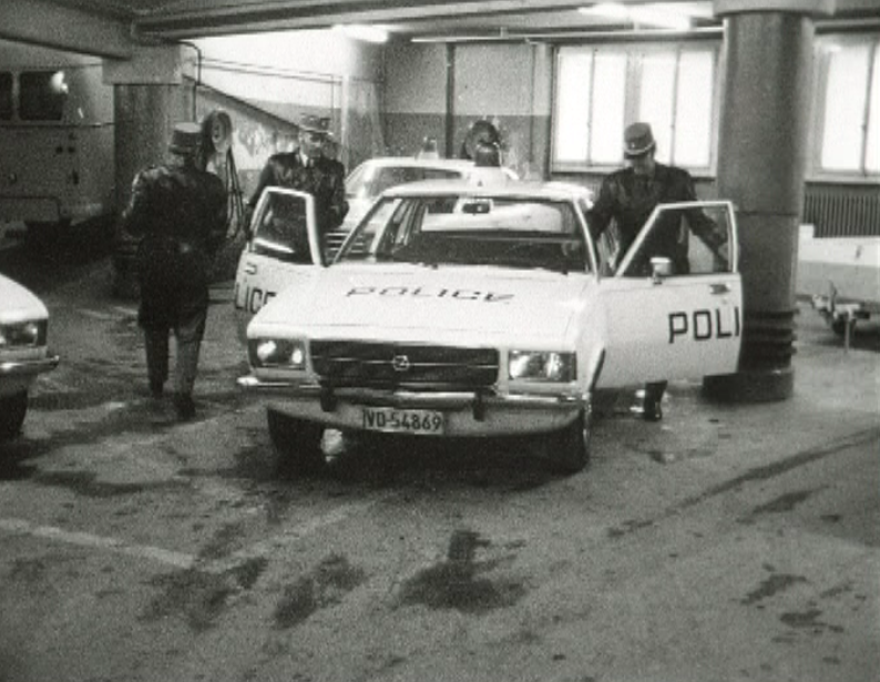 Police lausannoise 1974.