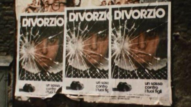 En 1974 l'Italie s'interroge: faut-il abroger le droit au divorce? [RTS]