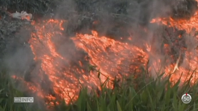 Le volcan Kilauea met l'île d'Hawaï en alerte [RTS]