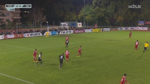 Football - Coupe de Suisse (1-8 de finale): Koeniz - Sion (0 - 3) + itw de Steve Rouiller, Défenseur du FC Sion [RTS]