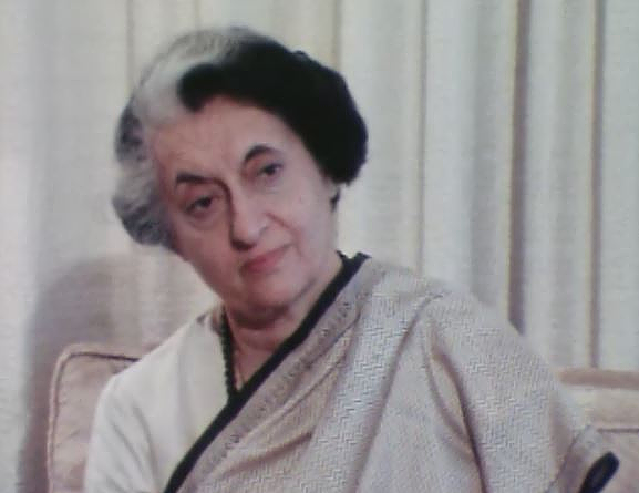 Interview exclusive d'Indira Gandhi en 1981.
