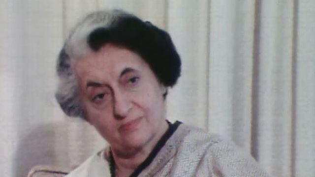 Interview exclusive d'Indira Gandhi en 1981. [RTS]