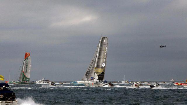 En 2010, précédente année record, 85 navigateurs avaient quitté la ville corsaire. [Jacques Brinon - Keystone]