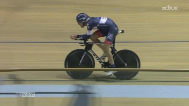 Cyclisme: Matthias Brändle a battu le record de l'heure [RTS]