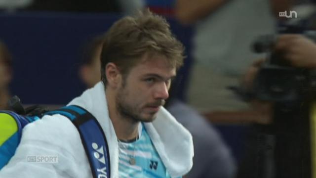 Tennis: Stan Wawrinka manque de confiance dans ses matchs [RTS]