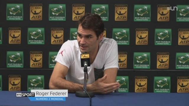 Tennis - Masters de Paris-Bercy: Federer s'incline en 1-4 de finale [RTS]