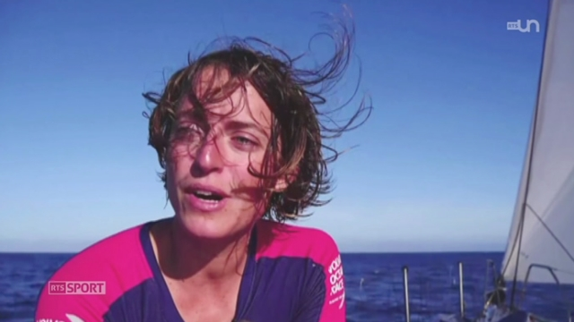 Voile - Volvo Ocean Race: Justine Mettraux raconte son expérience [RTS]
