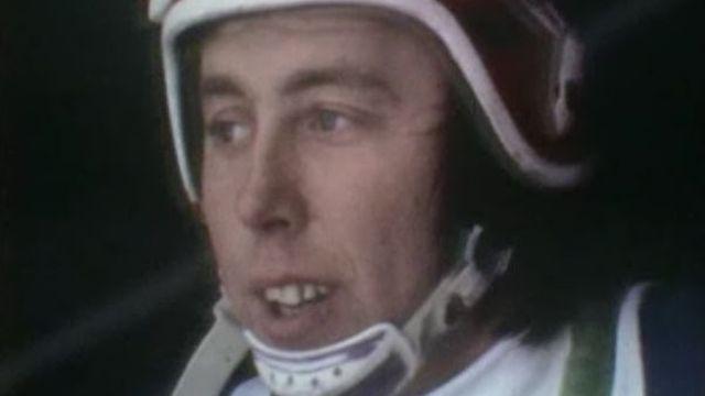 Le skieur suisse Roland Collombin en 1974 [RTS]