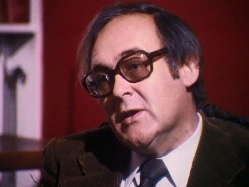 Robert Sabatier fait partie de l'Académie Goncourt depuis 1971. [RTS]