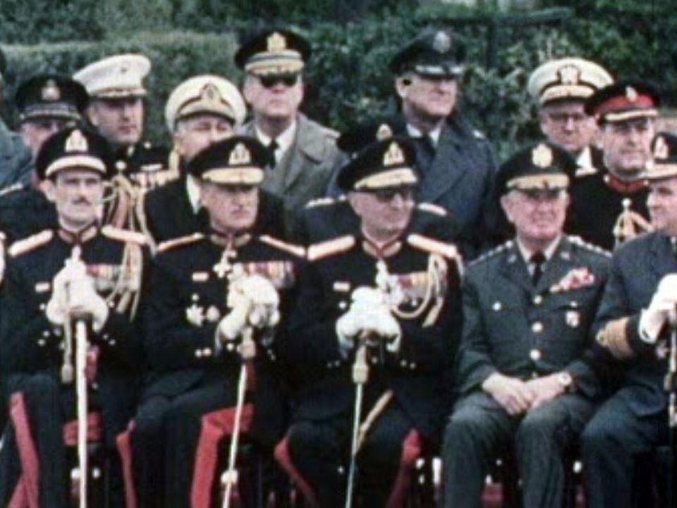Dictature des colonels en Grèce. [RTS]