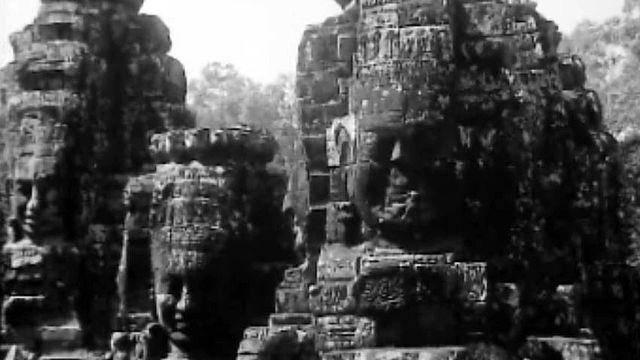 Le temple de Bayon forme le coeur de la cité d'Angkor.