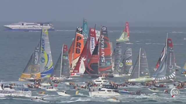 Voile: les concurrents de la Route du Rhum rencontrent des conditions difficiles [RTS]