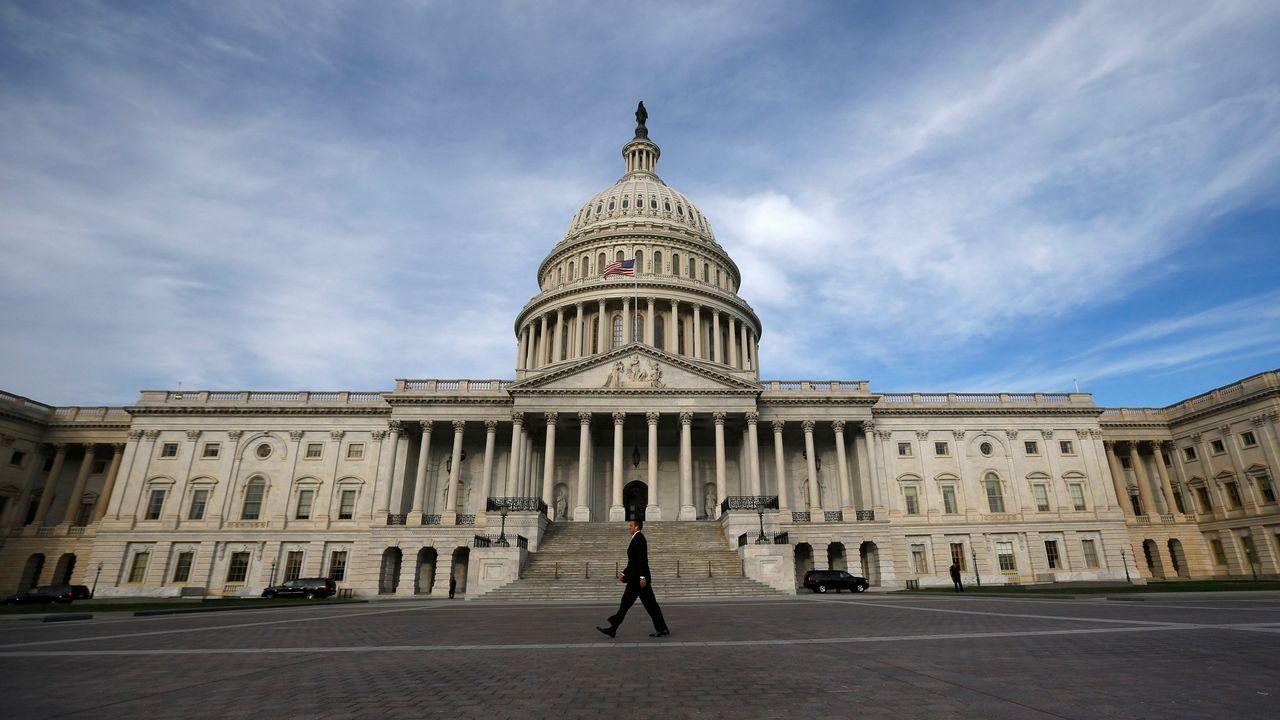 Le bâtiment du Congrès américain à Washington. [Jason Reed - Reuters]