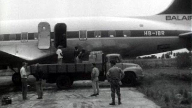 La Radio et la Télévision s'unissent pour des secours au Biafra.