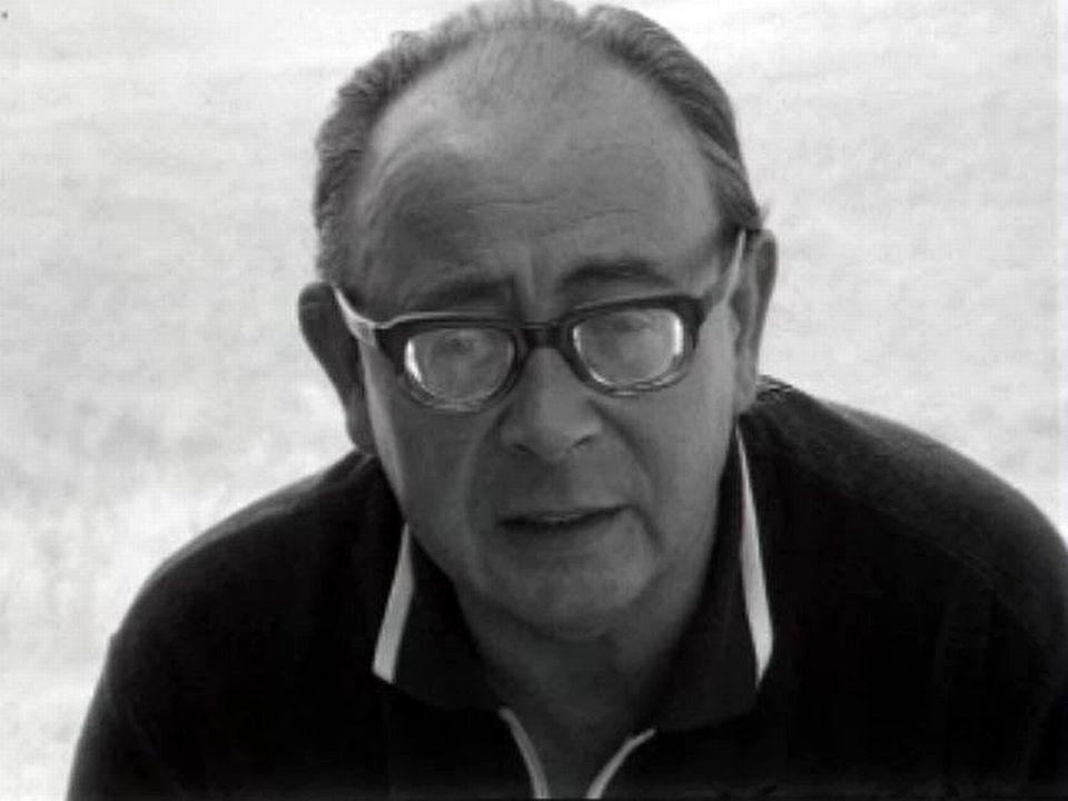 """""""La maison en Calabre"""" de Georges Haldas vue par Claude Goretta. [RTS]"""