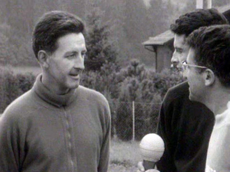 Boris Acquadro a rencontré des participants à la course de 1965.