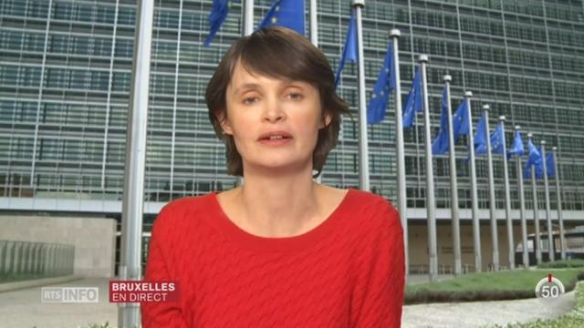 Accords fiscaux - Luxembourg: le point avec Isabelle Ory à Bruxelles [RTS]
