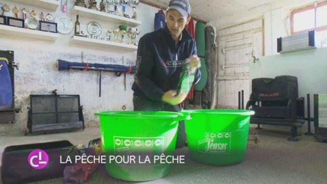 Un Jurassien est champion suisse de pêche au coup [RTS]