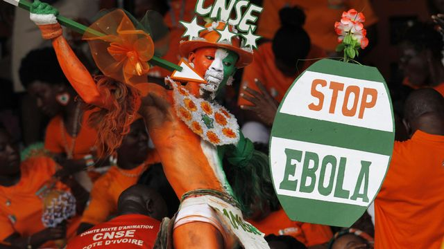 Le spectre d'Ebola pourrait condamner la compétition. [Luc Gnago - Reuters]