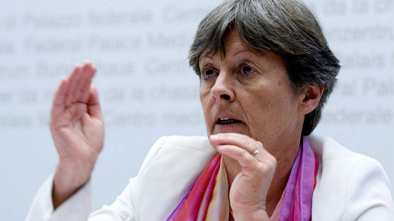 La conseillère nationale socialiste bernoise Margret Kiener Nellen. [Marcel Bieri - Keystone]
