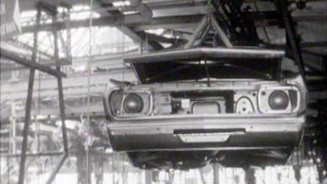 Les nouvelles tendances du Salon de l'auto 1966.