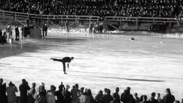 L'aisance de Gerschwiler lors des Mondiaux de 1947 à Davos.