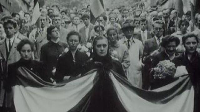 Insurrection hongroise de 1956. [RTS]