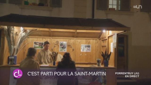 JU: l'Ajoie fête la St-Martin [RTS]