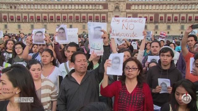 Mexique: des manifestants ont tenté de pénétrer dans le palais présidentiel [RTS]