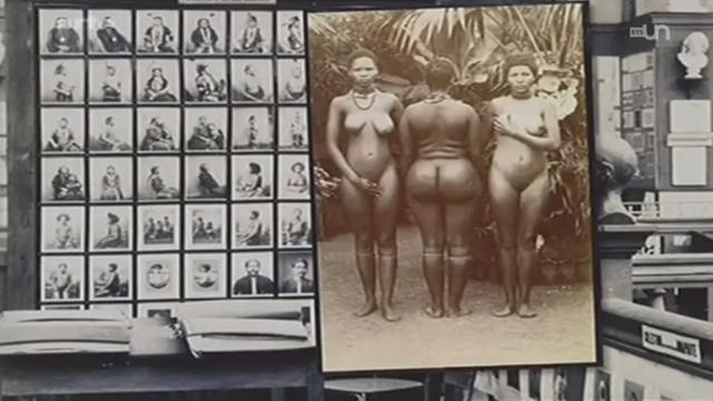 Des Noirs en cage, une exposition qui dérange [RTS]