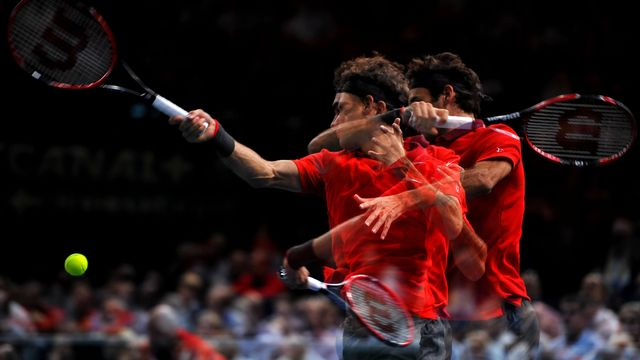 D'abord le Masters, ensuite la Coupe Davis. Roger Federer a faim! [Virginie Bouyer - EQ]