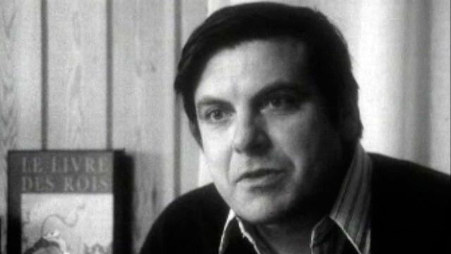L'éditeur Bertil Galland en 1973. [RTS]