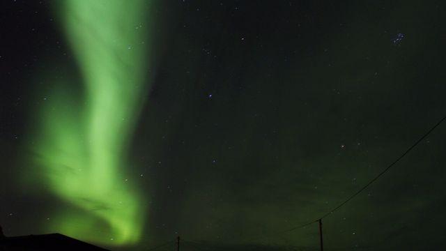 Une aurore boréale dans le ciel de Norvège [Victorien Kissling - vosinfos]