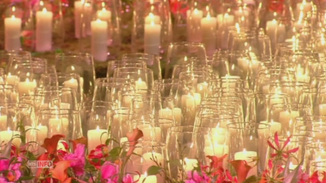 Ceremonie en memoire des victimes du crash du MH17