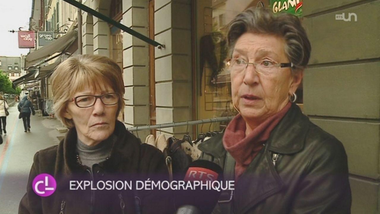 FR: le développement de la ville de Bulle ne fait pas que des heureux [RTS]