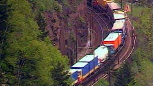 Un accord sur le transit alpin des marchandises a été conclu avec l'Europe.