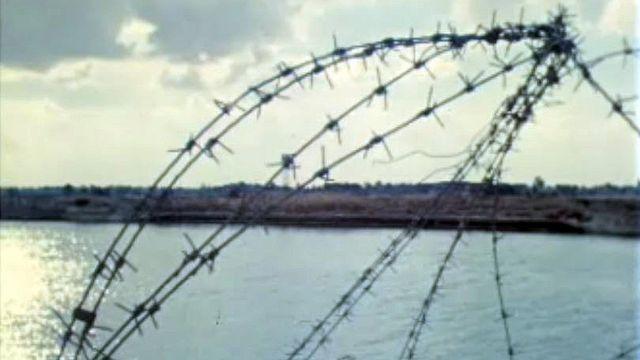 Les soldats israéliens occupent la rive orientale du canal. [RTS]