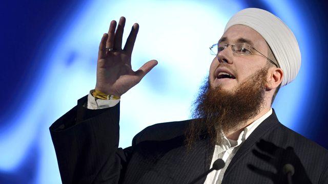 Nicolas Blancho, président du Conseil central islamique suisse (CCIS). [Martial Trezzini - Keystone]