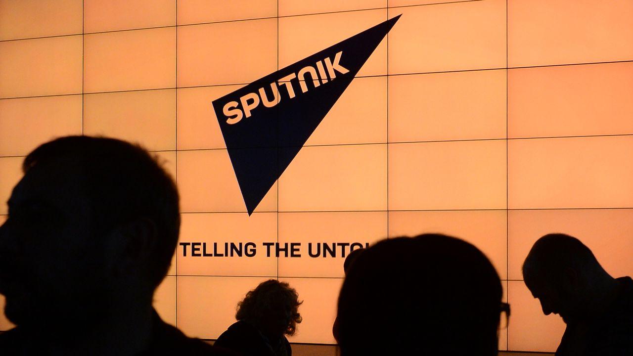 """La Russie a annoncé lundi le lancement de Sputnik, un nouveau service international multimédia financé par l'Etat, qui vise à lutter contre """"la propagande agressive"""" de l'Occident et fournir une """"interprétation alternative"""" des événements dans le monde. [Alexey Filippov/RIA Novosti - AFP]"""