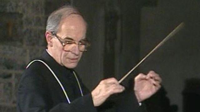Marius Pasquier, chanoine de Saint-Maurice et musicien [RTS]