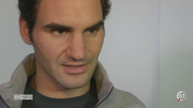 Tennis - Maters de Londres: Federer s'est défait du Japonais Kei Nishikori (6-3 6-2) [RTS]