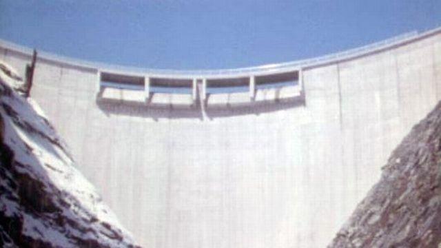 La Grande Dixence est un vaste complexe hydroélectrique. [RTS]
