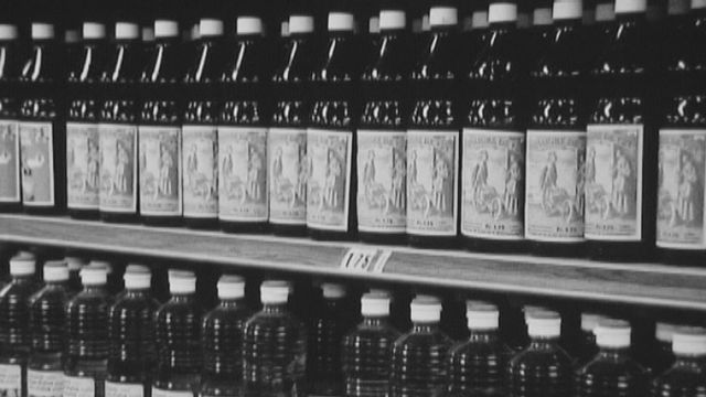 Enquête sur une bouteille au-dessus de tout soupçon. [RTS]