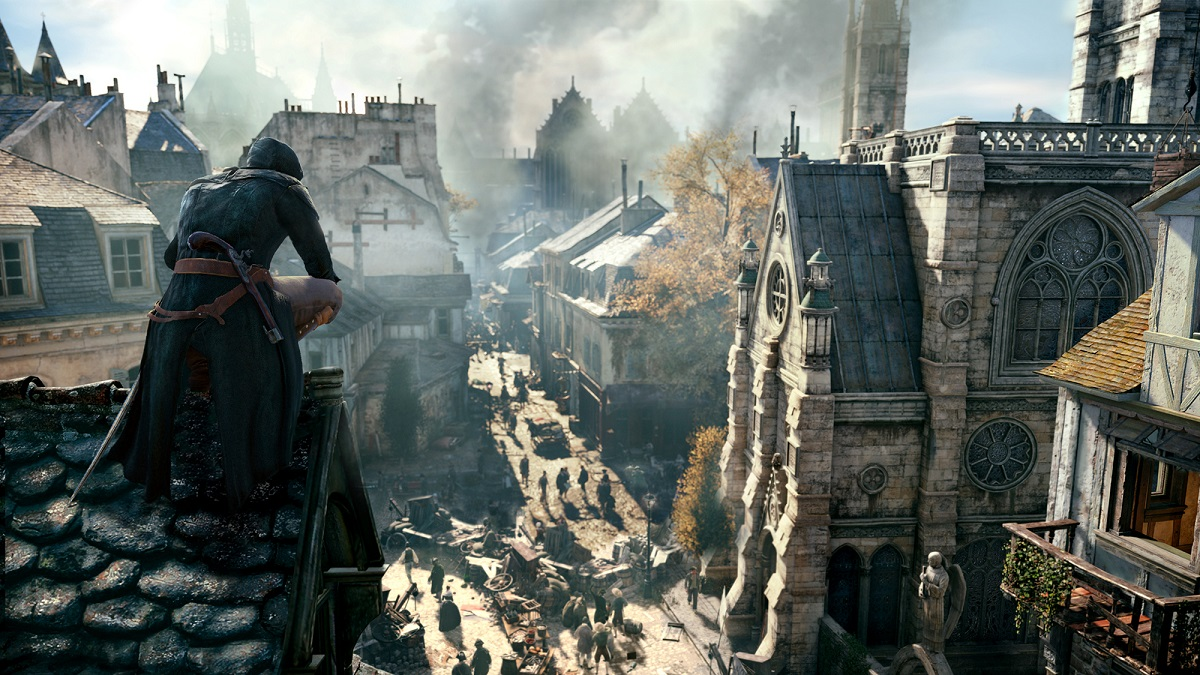 "Visuel de ""Assassin's Creed Unity""."