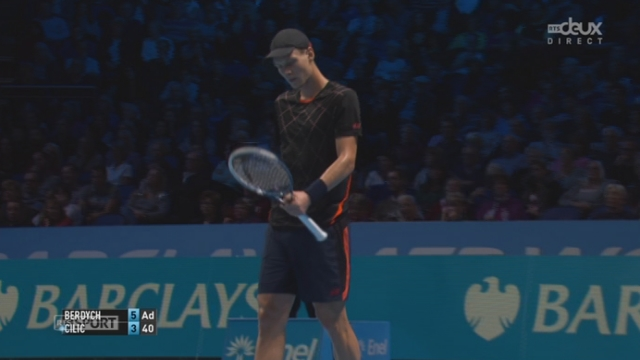 Tennis - ATP Master, Berdych - Cilic (6-3): Berdych remporte facilement le 1er set [RTS]