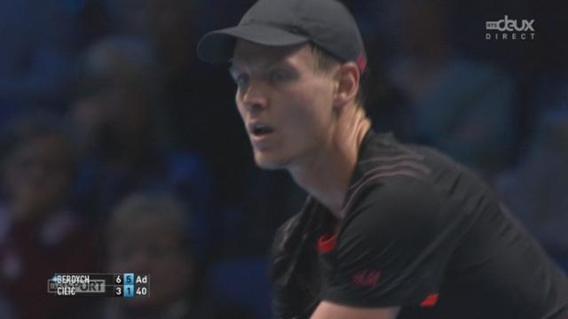 Tennis - ATP Master, Berdych - Cilic (6-3,6-1): Berdych remporte facilement le match contre Cilic [RTS]