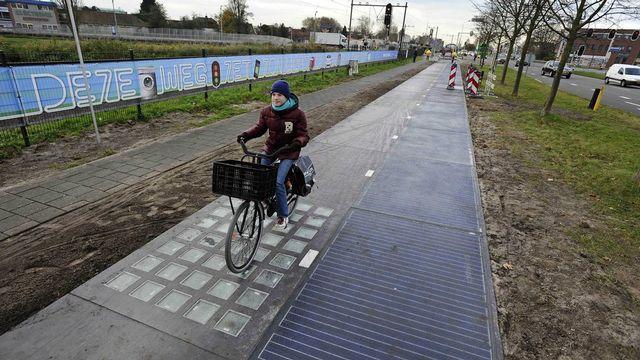 La piste de 70 mètres de long a été inaugurée à Krommenie, aux Pays-Bas. [Evert Elzinga - Keystone]