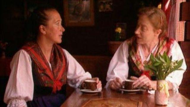 Deux Evolénardes s'entretiennent en patois, 1999 [RTS]