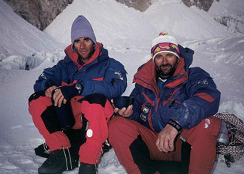 Erhard Loretan et Jean Troillet