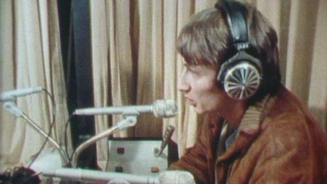 Les métiers de la radio, 1980. [RTS]